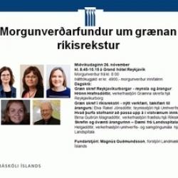 Morgunverðarfundur 26. nóvember 2014
